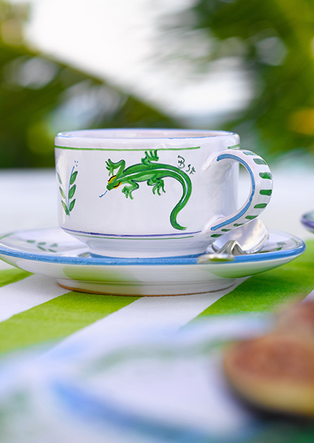 Tropical Ceramic Dinnerware