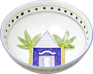 Blue Buttery Medium Bowl