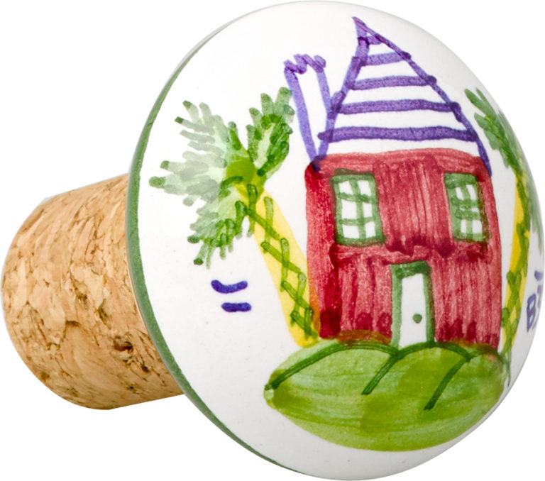Bermuda Cottage Wine Stopper