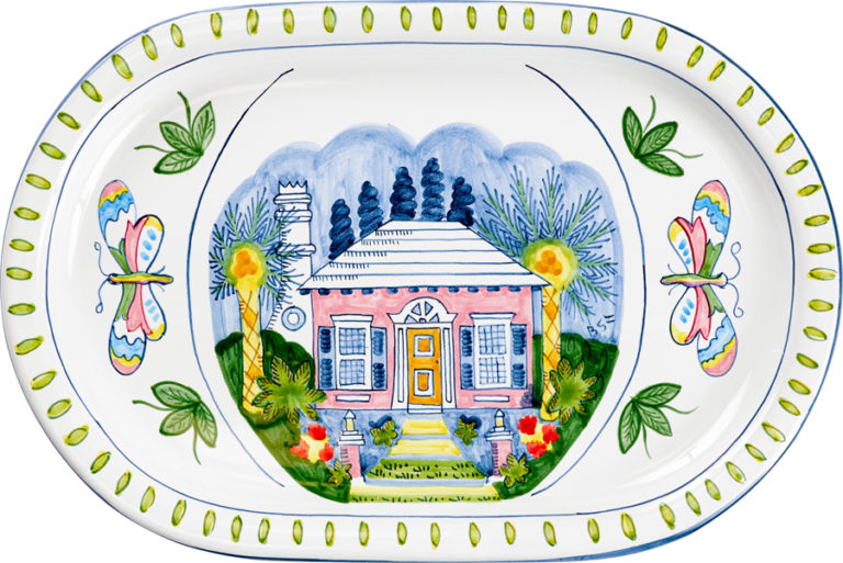 Butterly Cottage Oval Platter