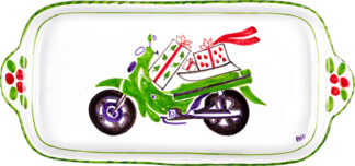 Green Scooter Butter Tray