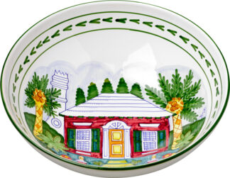 Bermuda Cottage Large Bowl