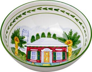 Bermuda Cottage Medium Bowl