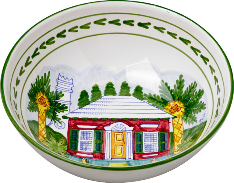 Bermuda Cottage Medium Bowl