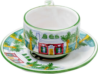 Bermuda Cottage Cup and Saucer