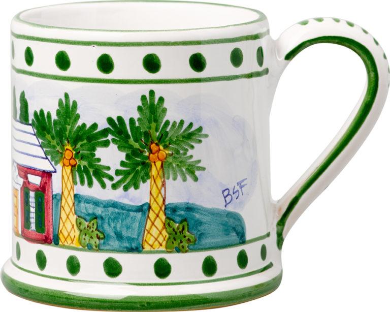 Bermuda Cottage Large Mug