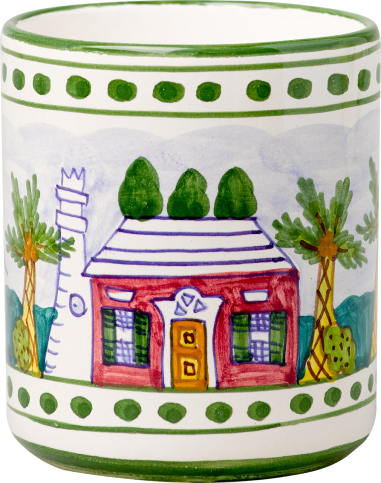 Bermuda Cottage Small Mug