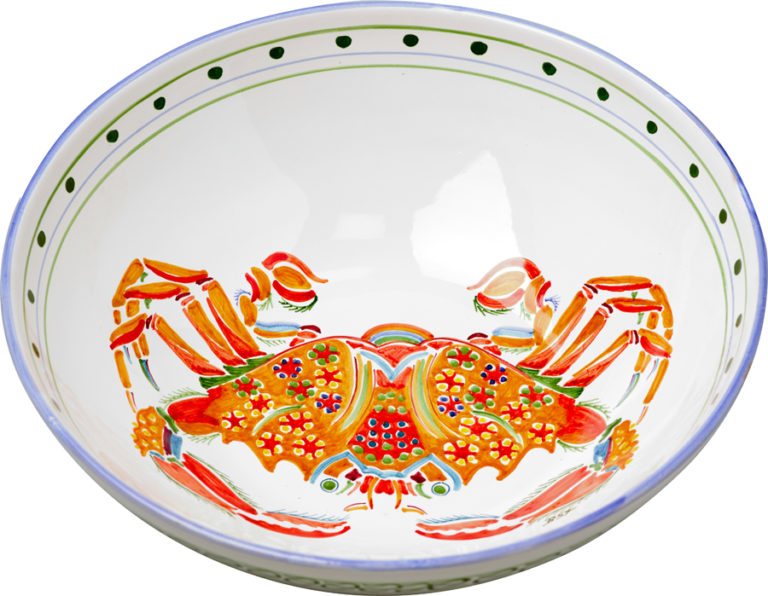 Crab Large Bowl