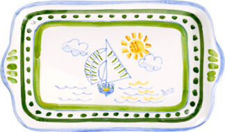 Bermuda Dinghy Small Butter Tray