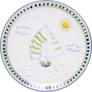 Bermuda Dinghy Dinner Plate