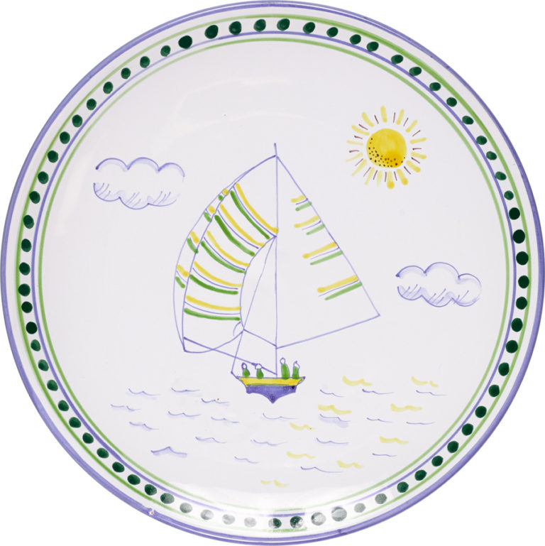 Bermuda Dinghy Dinner Plate