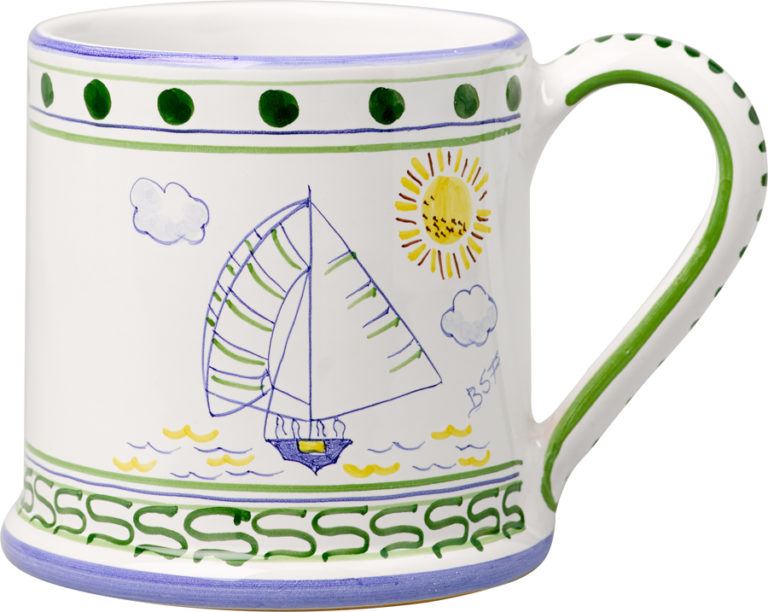 Bermuda Dinghy Large Mug
