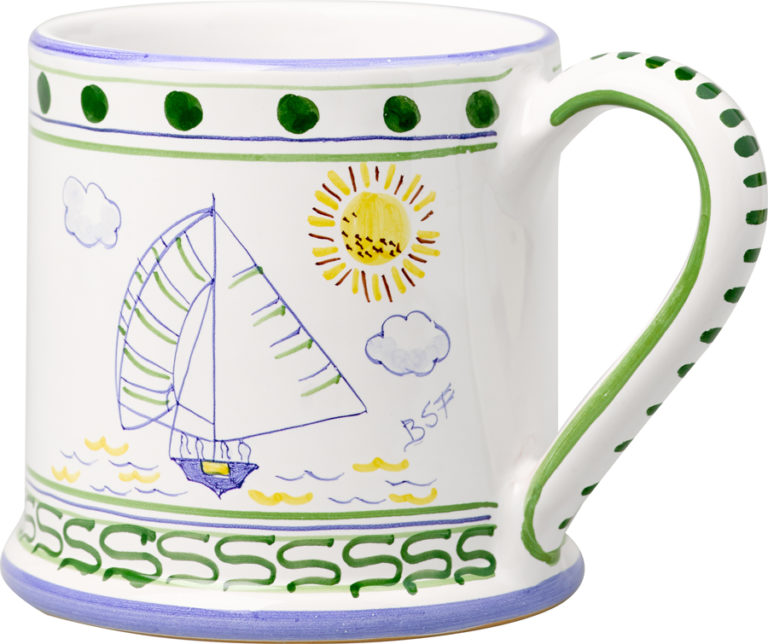 Bermuda Dinghy Large Mug