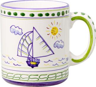 Bermuda Dinghy Small Mug