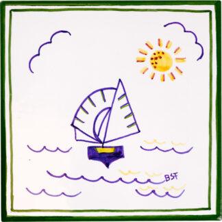 Bermuda Dinghy Medium Tile