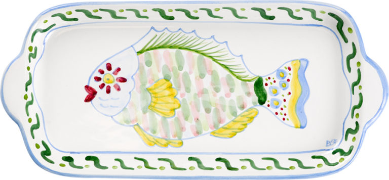 Parrot Fish Large Butter Tray