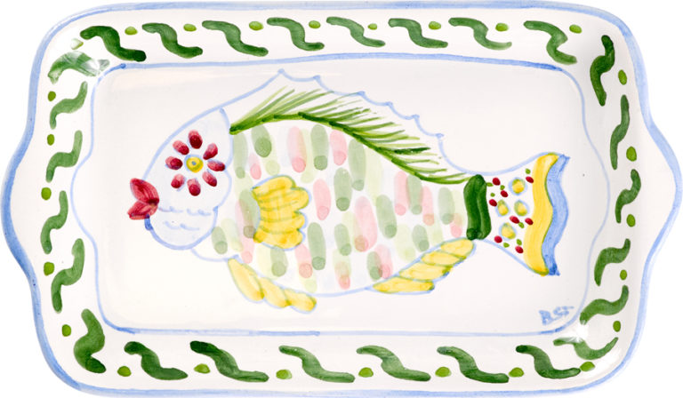 Parrot Fish Small Butter Tray