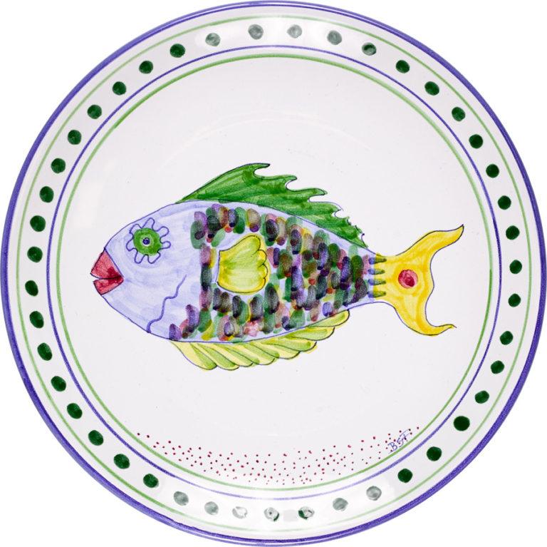 Parrot Fish Dinner Plate
