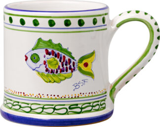 Parrot Fish Large Mug