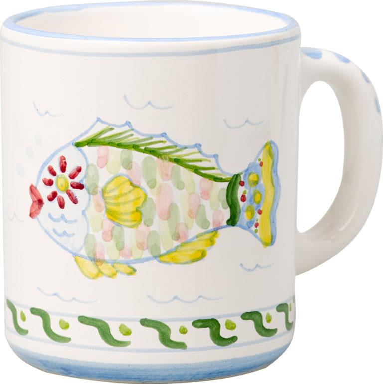 Parrot Fish Small Mug