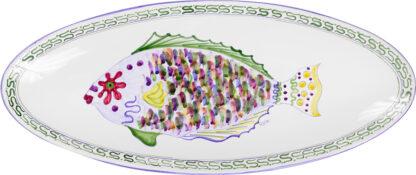 Parrot Fish Oblong Platter