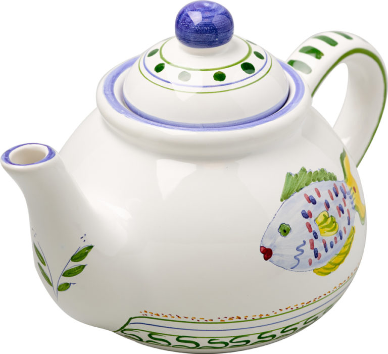 Parrot Fish Teapot