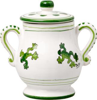 Tree Frog Sugar Pot