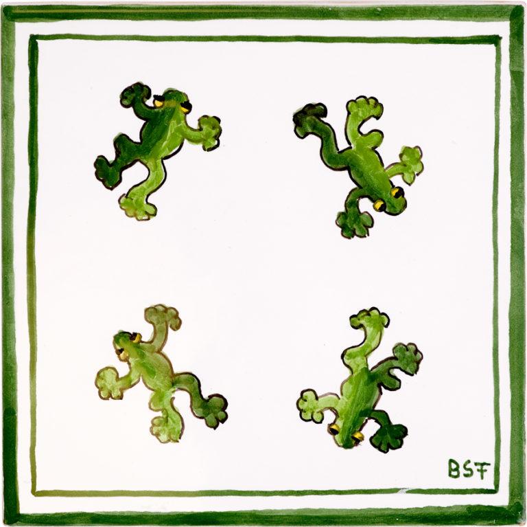 Tree Frog Medium Tile