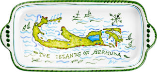 Bermuda Islands Butter Tray