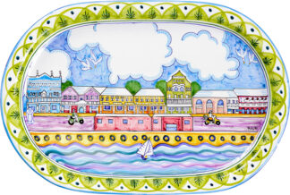 Front Street Oval Platter