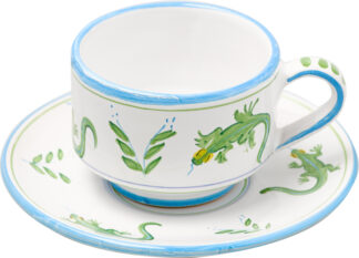 Lizard Cup and Saucer