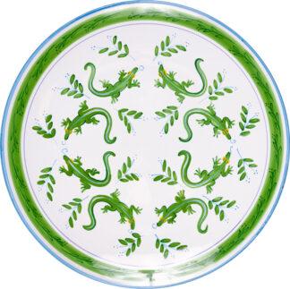 Lizard Dinner Plate
