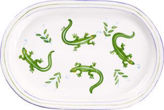 Lizard Oval Platter