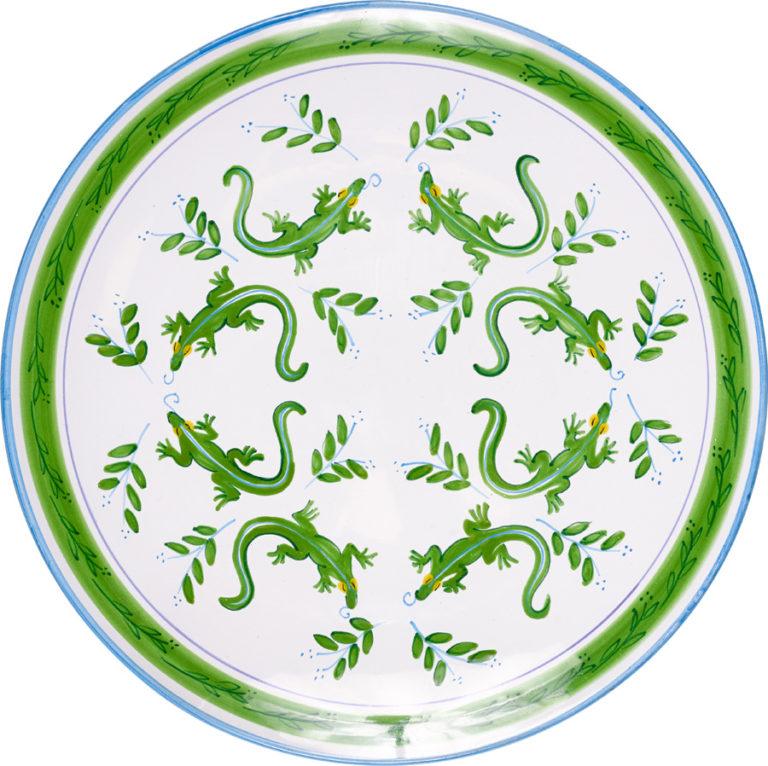 Lizard Round Platter