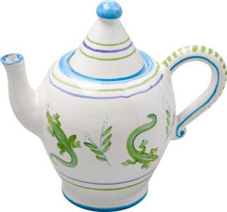 Palm Tree Teapot