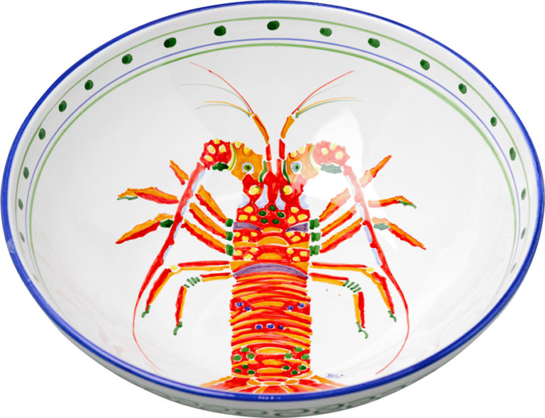 Lobster Large Bowl