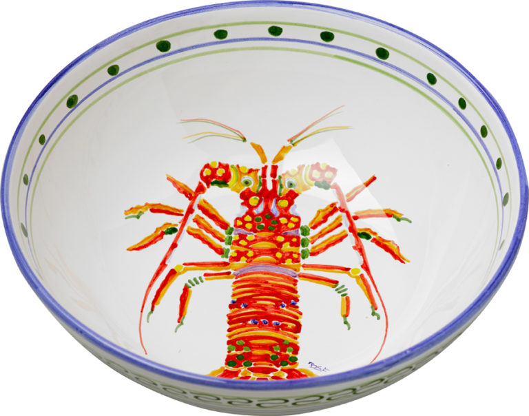 Lobster Medium Bowl
