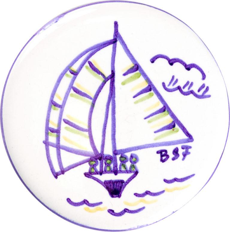 Bermuda Dinghy Magnet