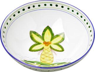 Palm Tree Large Bowl