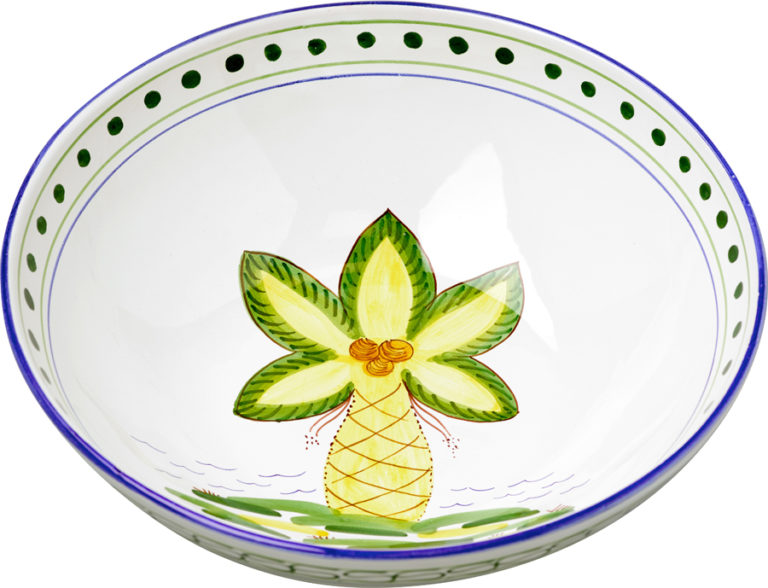 Palm Tree Large Bowl