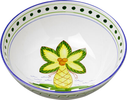 Palm Tree Medium Bowl