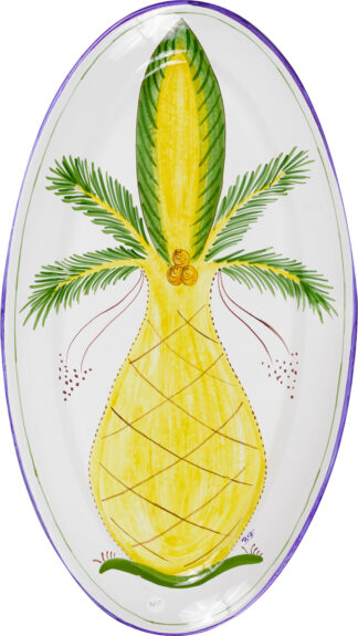Palm Tree Extra Large Oval Platter