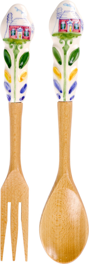 Bermuda Cottage Salad Servers
