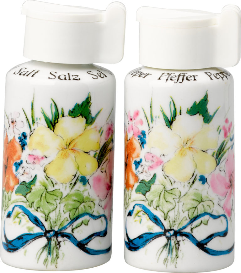 Bermuda Boquet Salt and Pepper Shakers