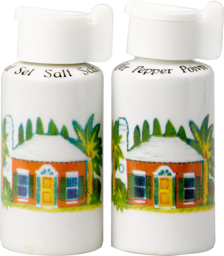 Bermuda Cottage Salt and Pepper Shakers