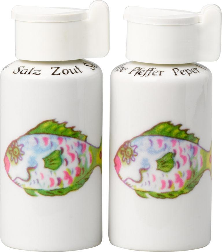 Oleander Salt and Pepper Shakers