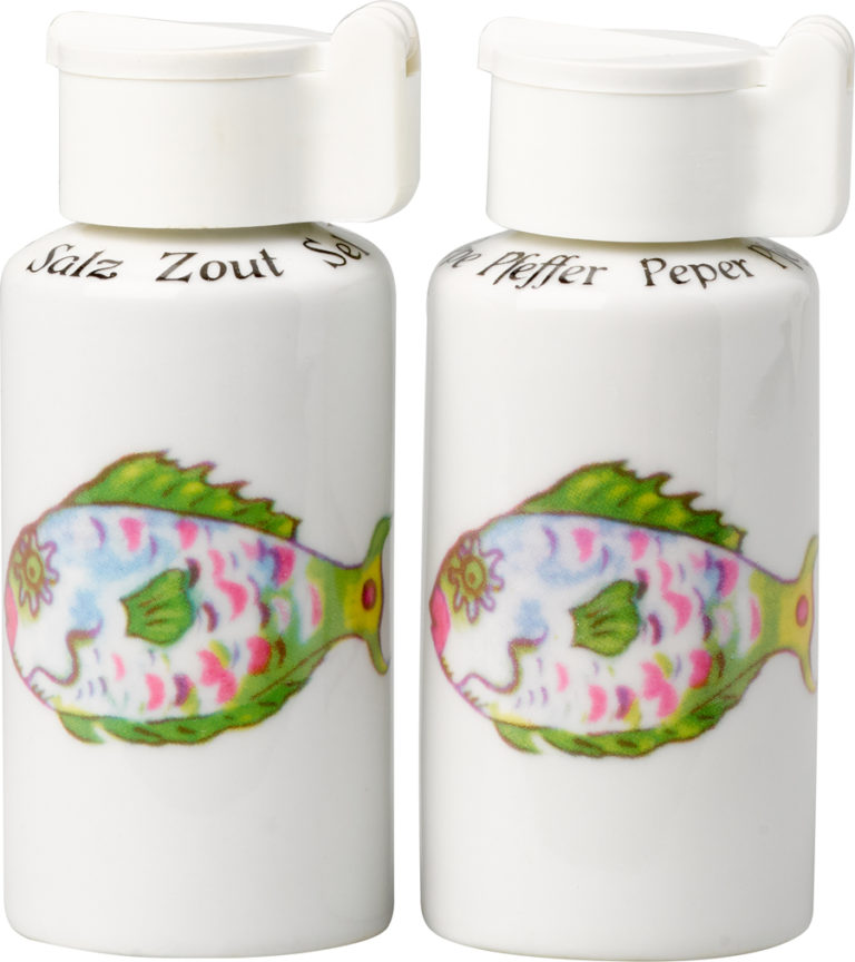 Parrot Fish Salt and Pepper Shakers