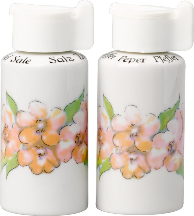 Oleander Salt and Pepper Shakers