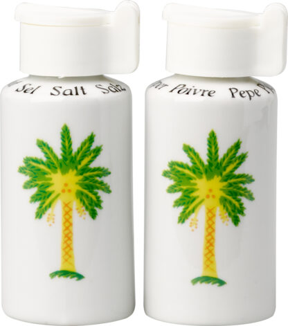 Palm Tree Salt and Pepper Shakers