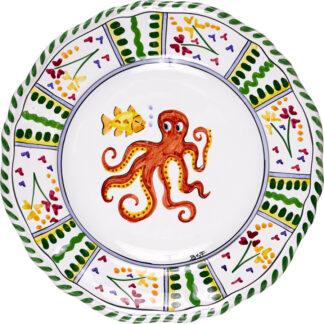 Bermuda Cottage Salad Plate